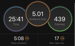 exercise metrics